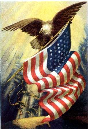 eagle flag graphics and comments