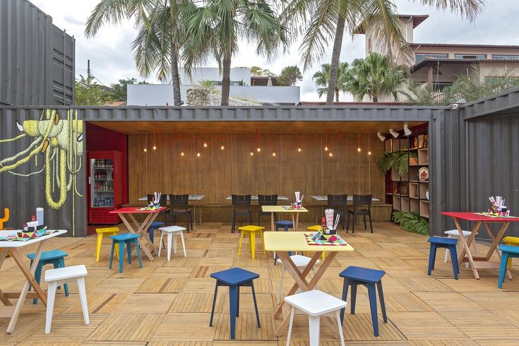 Galeria de Restaurante Container / Meius arquitetura + Bernardo Horta Arquiteto…