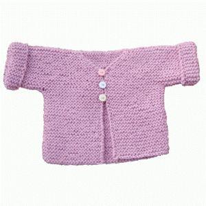 photo tricot modele tricot debutant layette 5