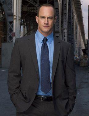Detective Stabler (Christopher Meloni)