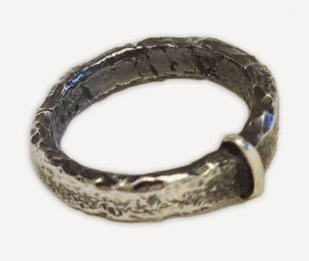 """Claire's ring from Episode 107, """"The Wedding""""."""