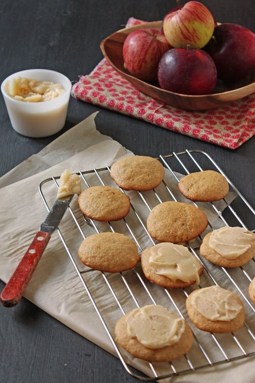 apple cinnamon cookies | Turkey Day | Pinterest