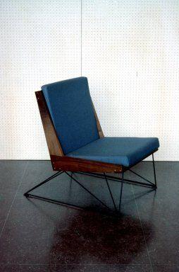 John Hertzman; #1 lounge chair, 1960.