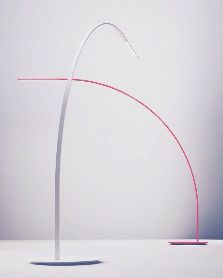 Ultra-refinement defines 'Yumi' floor lamp by @ShigeruBan for @fontanaarte. Reducing material presence to a minimum Yumi (which means 'bow' in Japanese) displays both grace & strength  Its 170 LED fixtures are embedded deep in the sturdy composite carbon-fiber body & the shell is brushed with matte finish to provide a shimmering elegance. Available in white black or red Yumi speaks the language of nuance.  . . . . . #sohodesigndistrict #sohonyc #soho #fontanaarte #shigeruban #designlovers…