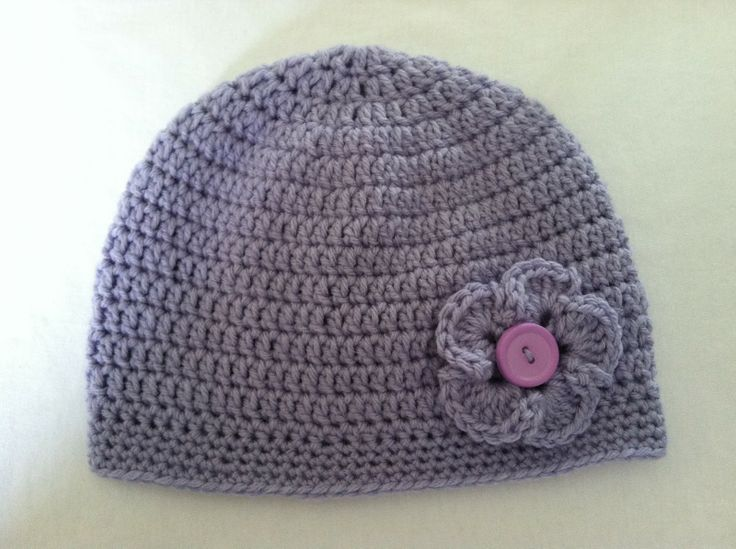 Free Crochet Chemo Patterns   Crochet for Cancer: Chemo Hat & Flower Patterns