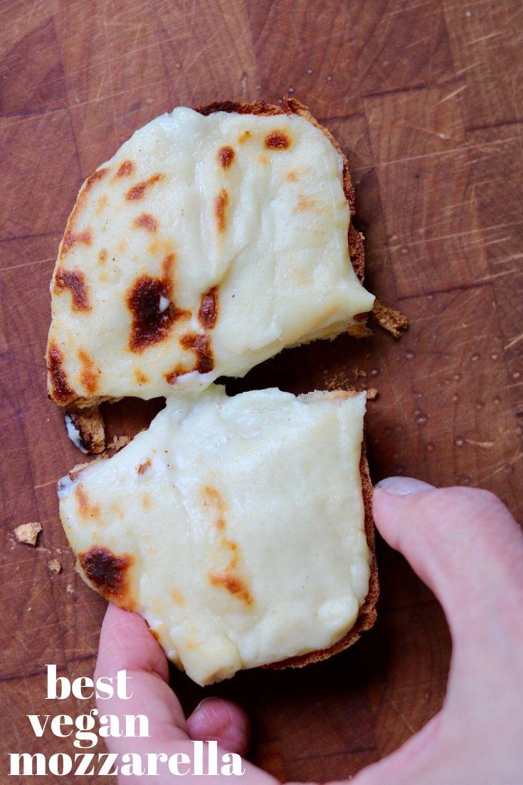 Best Vegan Mozzarella (Perfect on Pizza)