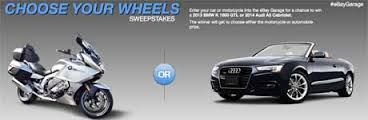 Win a 2013 BMW K 1600 GTL or 2014 Audi A5 Cabriolet-Sweepstake US!  #Giveaways #Competition #Free