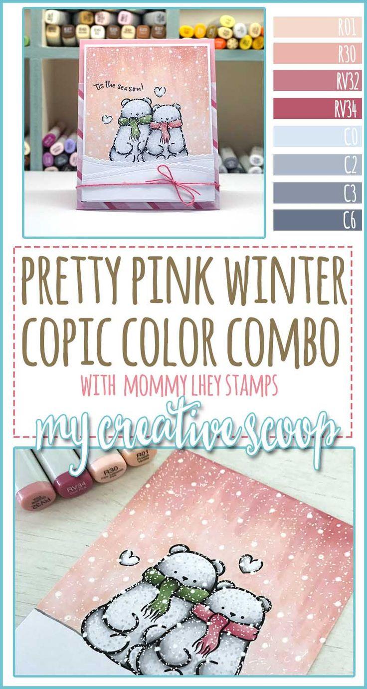 Pretty Pink Winter Copic Marker Color Combo