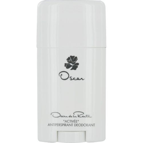 Oscar Deodorant Antitranspirant Stick for Women by Oscar De La Renta, 2.5 Ounce by Oscar de la Renta. $12.07. Notes consist of basil, jasmine, lavender and sandalwood, a n exotic scent. Deodorant antitranspirant stick 2.5 ounce. Designed for women. Introduced in 1977, Oscar contains notes including basil, jasmine, lavender and sandalwood, a n exotic scent.