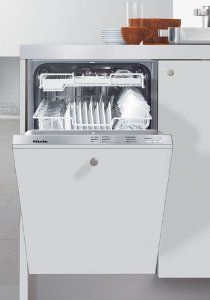 The slimline dishwasher series was developed to be more narrow and upright compared to the traditional dishwashers available. $1,399  http://www.yourdishwasherguide.com/slimline-dishwasher-reviews/  #miele #slimline #dishwasher