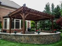 Western Timber Frame: America's Pergola Specialists Gallery Welcome to our timber frame gallery. Below we have examples of timber framing, pergolas, pergola kits, posts and beams, decks, and more. If you don't see what you are looking for here or have an idea in mind for your own backyard, don't hesitate to contact