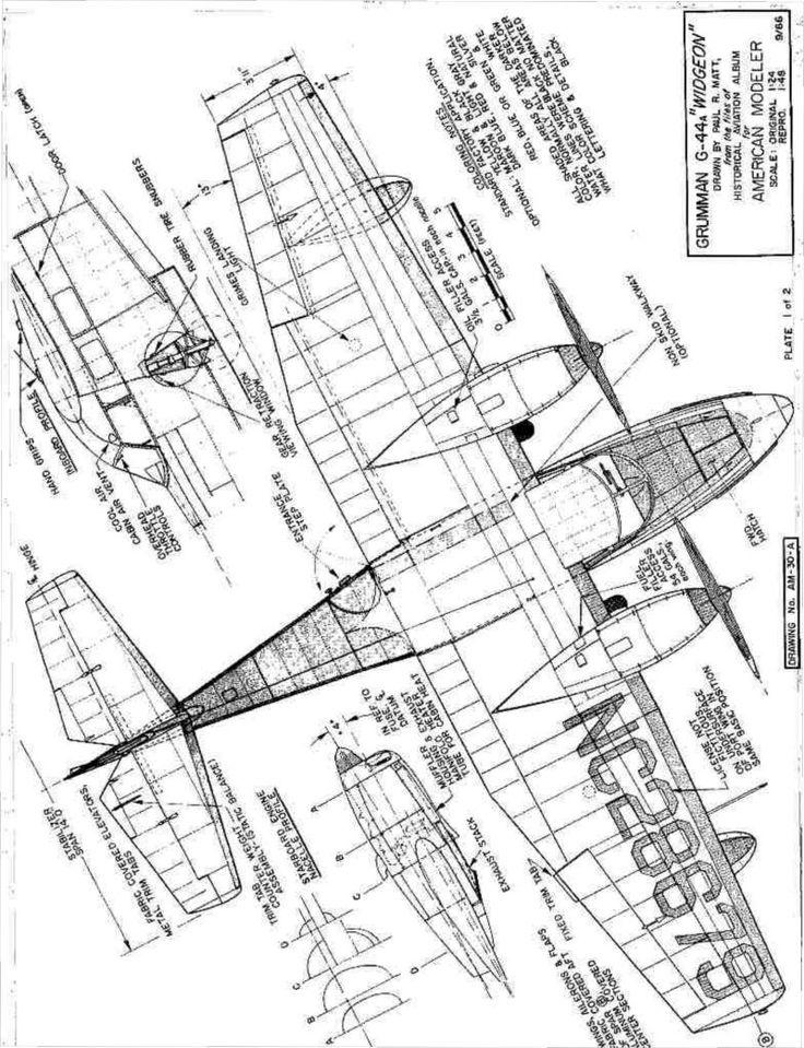 Model Blueprints: http://www.myhobbylinks.com/images/3V-G29-WIDGEON.jpg
