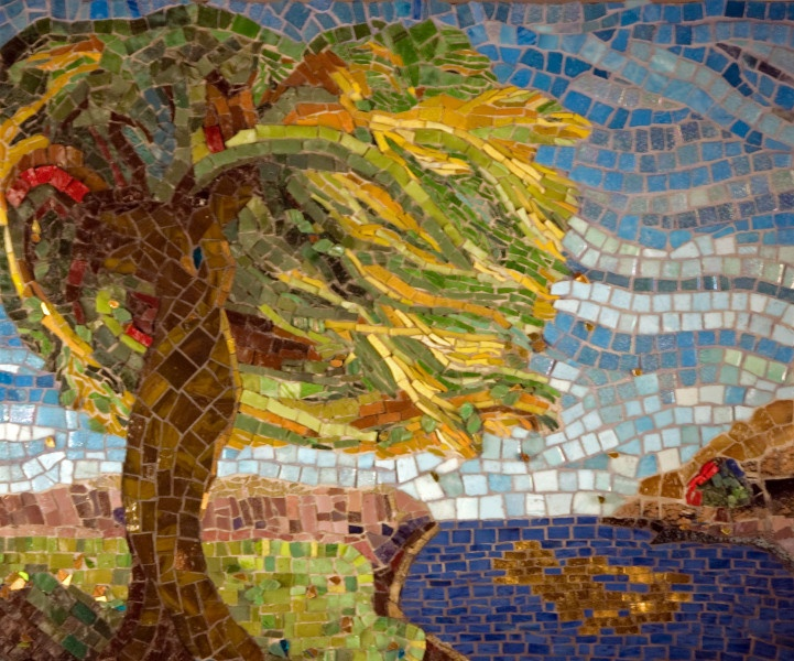 42 best images about Mosaic Trees on Pinterest  Trees, Ceramics and Eggshell