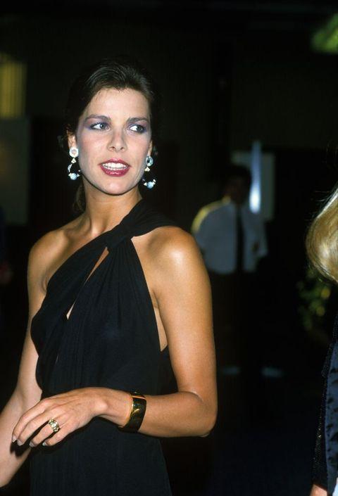 Los 'pendientazos' de Carolina de Mónaco en los 80 que hoy se vuelven a llevar