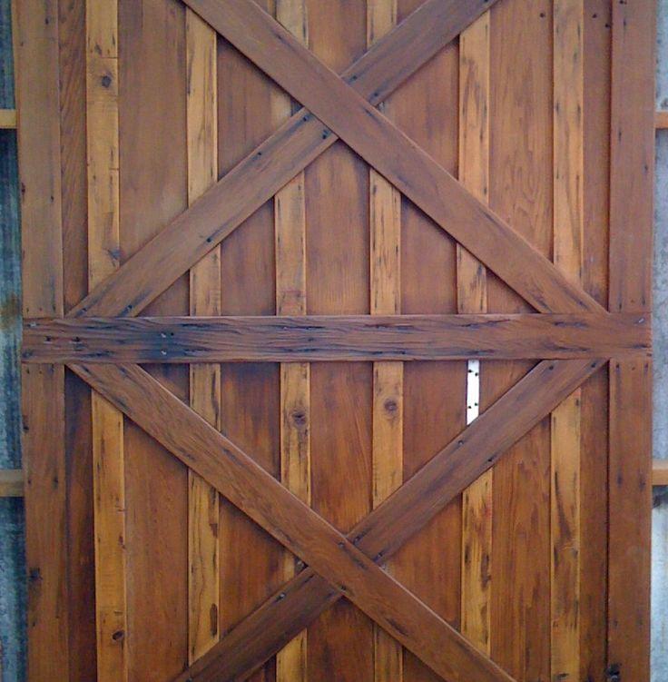 18 best images about custom fabricated barn doors on for Custom barn doors