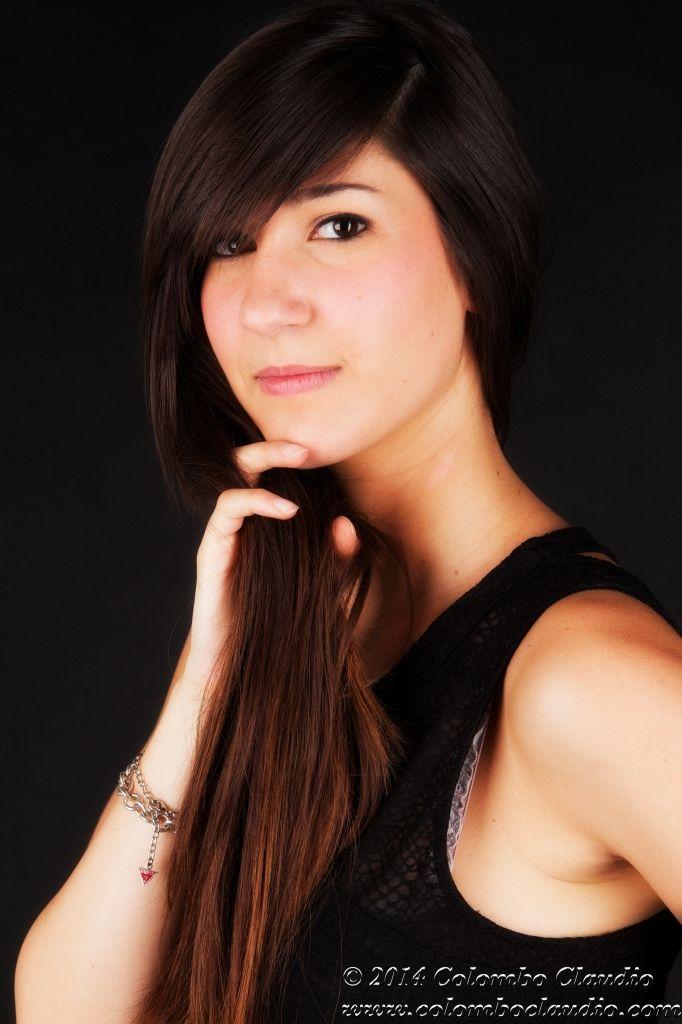 Titolo: Portraits Model: Francesca Martinello Location: Studio