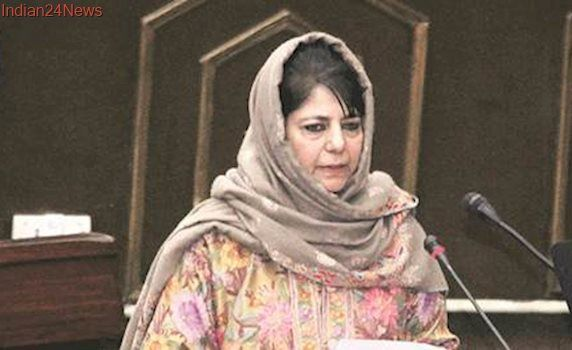 Those against Article 370 are like those who want one religion in Valley: Mehbooba Mufti