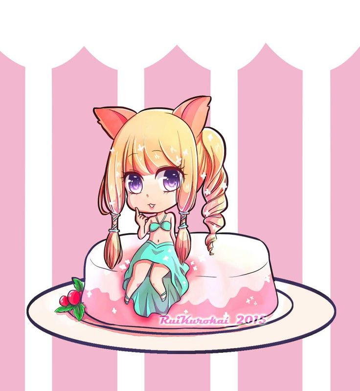 a bit of chibi cake.. :3