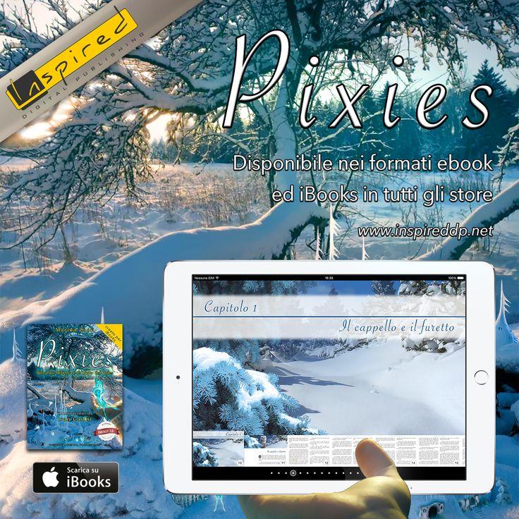 Pixies è una fiaba per bambini e ragazzi in Ebook e iBook, scritta da Marina Zaoli e con le illustrazioni di Ivan Cavini. Volete vedere l'indice? Eccolo qui. Noi abbiamo sviluppato e pubblicato il libro curandone l'impaginazione, la copertina, la conversione e l'adattamento a tutti i dispositivi. bit.ly/Inspired_Pixies