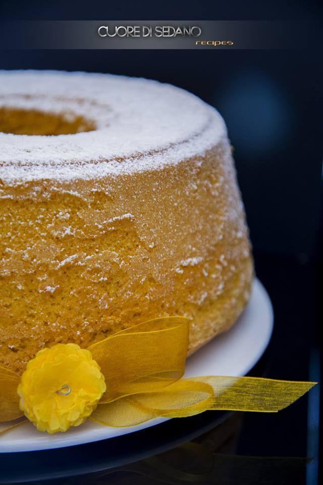 La ricetta della Lemon Chiffon Cake di Cuore di Sedano