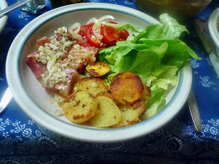 Sülze-Bratkartoffel-Salate