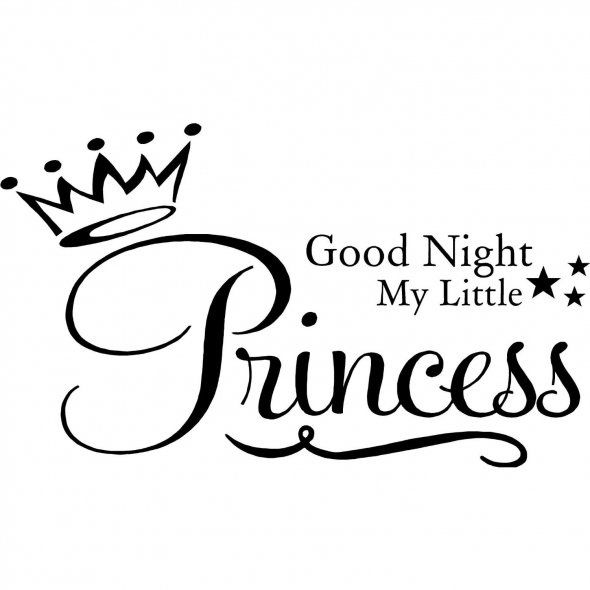 Girlfriend Princess Quote : Good night princess fairytales the