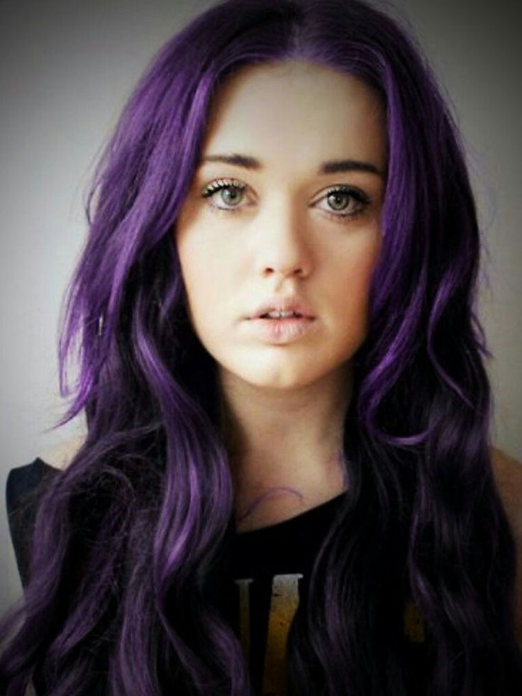 98 best Purple images on Pinterest | Hair, Purple hair and Hair ideas