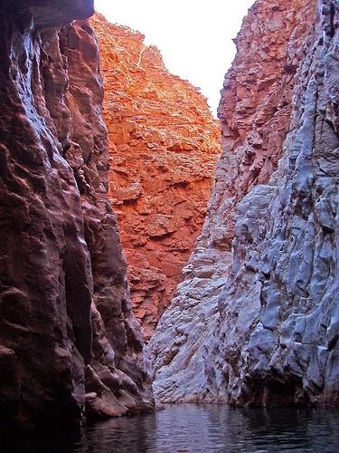 Waterhole at Redbank Gorge; Northern Territory Australia