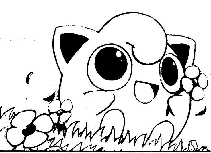 Epic Cute Pokemon Coloring Pages 36 In For Kids With