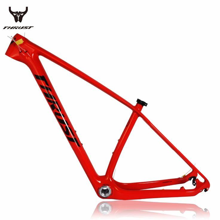 THRUST Carbon mtb Frame 29er 15/17/19 inch BSA/BB30 Thru Axle Bike Bicycle Carbon Frame 27.5er Carbon mtb Frame Free Shipping