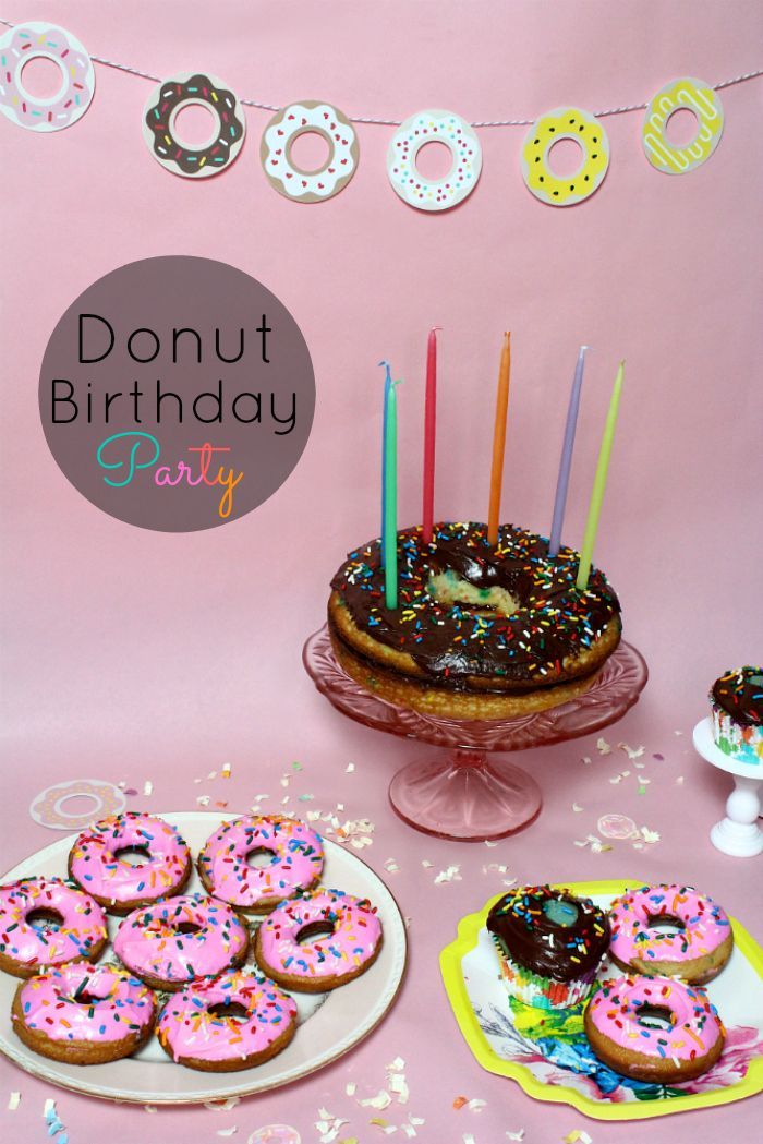 43 best Donut Party images on Pinterest Donut party Donut