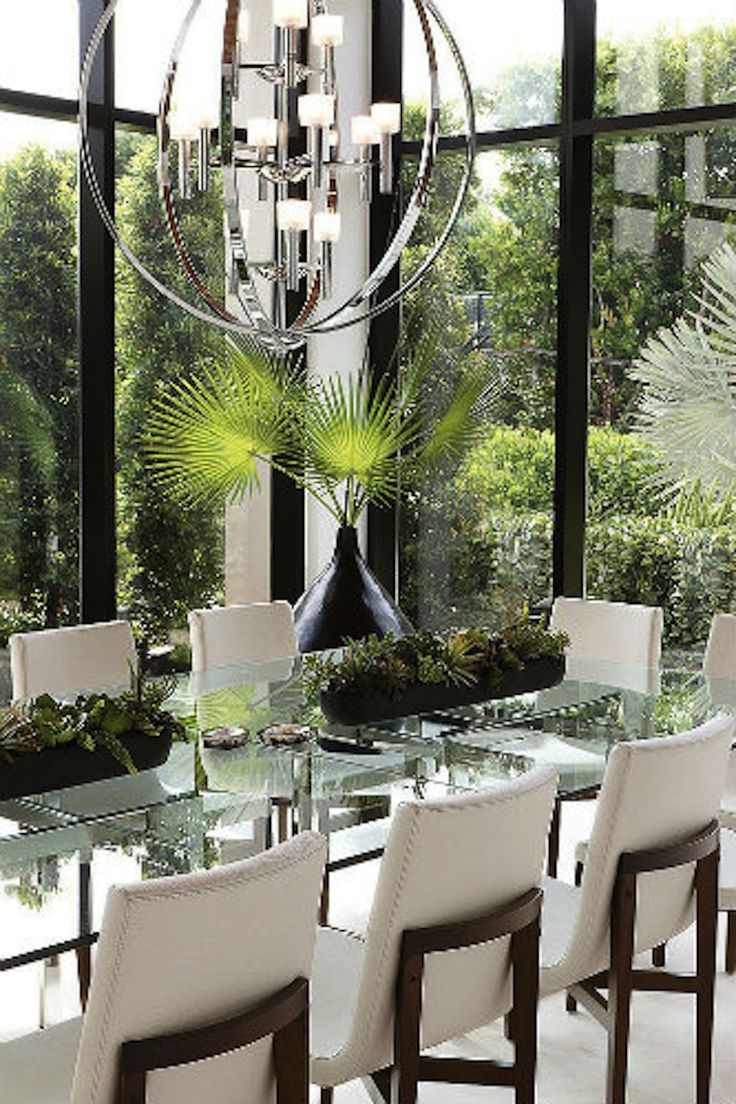 50 Strikingly Modern Dining Rooms That Inspire You To: 17 Best Ideas About Glass Dining Room Table On Pinterest