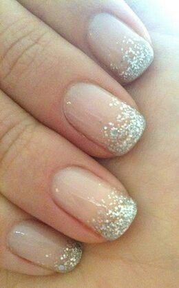 Love the sparkle - and that it's not overdone, just the right amount of shimmer.