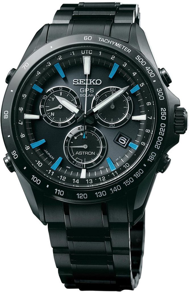Seiko Astron Watch GPS Solar Chronograph Blue #bezel-fixed…
