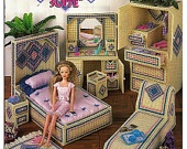 Fashion Doll Dream Home Kitchen Plastic Canvas Pattern The Needlecraft Shop 963754. $24.00, via Etsy.