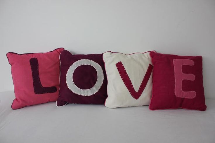 Ethical and handmade 'love' set cushions! Ideal for baby/toddler rooms.   Email us info@arushi.co.uk Follow us on https://www.facebook.com/HandmadewithloveArushi/