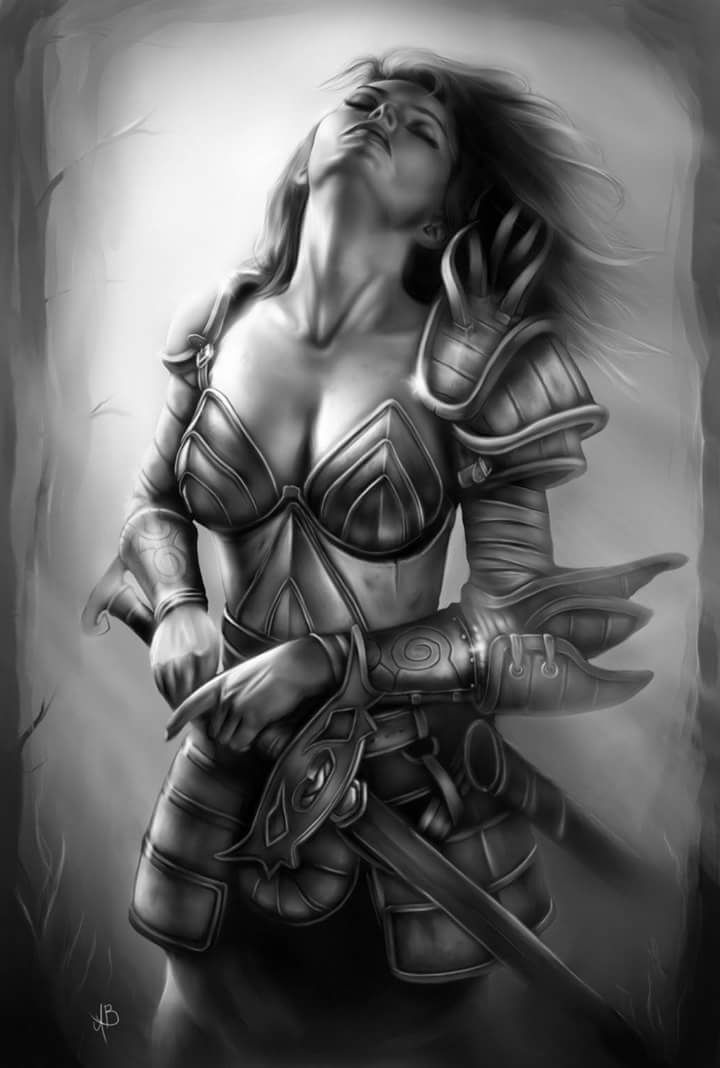 1253 best fantasy art valkyries warriors images on - Fantasy female warrior artwork ...