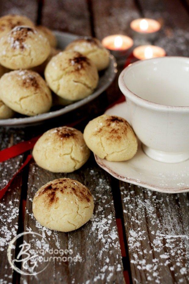 Les biscuits du Père Noël : Les montecaos | Bavardages Gourmands