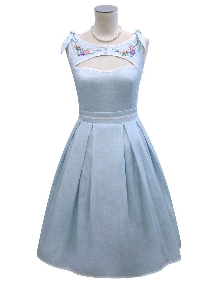 One, Two, Buckle My Shoe Peekaboo Dress