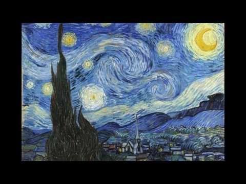 27 cuadros de Van Gogh con música de Claro de luna de Beethoven HD - Video YouTube. Preciosos óleos con buen detalle