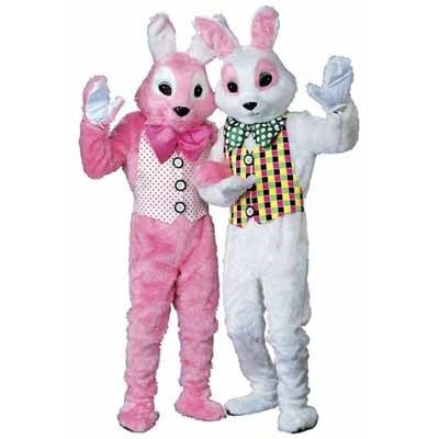 Easter Bunny Mascot Costume Adult Plus - Our Price: $546.00