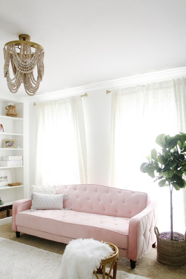 Sofa In Home Office Modern Feminine Home Office Home Decor Feminine Home