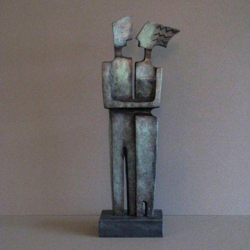 Kunst - brons beeld - Alied Holman - Koppel