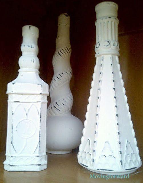 DIY: Easy Vintage- Glass Bottles & Vases (Excellent Technique Tutorial)
