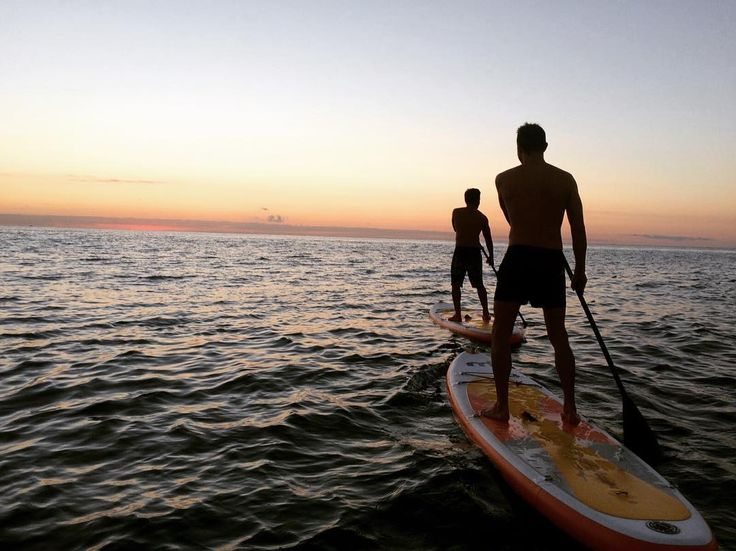 Nice shot from one of our guests this morning! #sunrise #paddlesurf #brummellrecommends