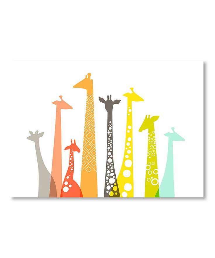 Giraffes Wall Art