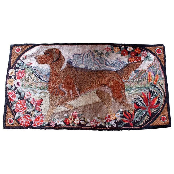 Transocean Dog Rug: 1000+ Images About Hooking With Dogs On Pinterest