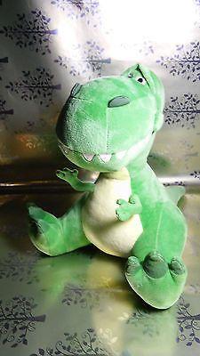 "Disney Pixar Rex Green Dinosaur Toy Story Kohl's Cares Plush Stuffed Animal 11"""