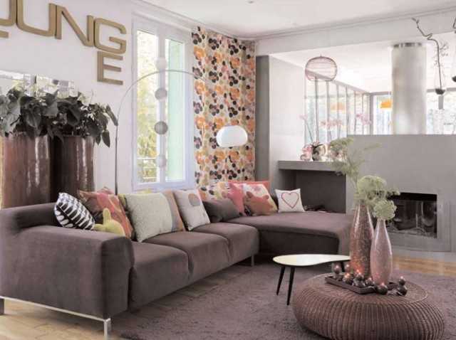 Best 25 big couch ideas on pinterest black sofa living for Normal living room designs