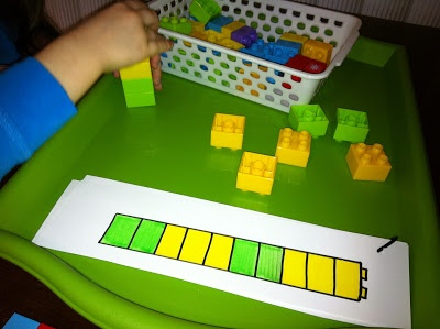Montessori: tray work fun in the areas of practical life, science, and fine motor skills.
